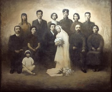 Catholic Wedding. 169x200cm