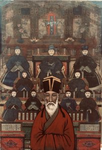 """Matteo Ricci - 1552-1610"" 172x116cm."